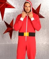 Foute kerstmannen pak onesie heren trend