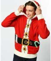 Foute kerstprint truien kerstman trend