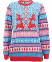 Foute print dames truien dancing stags trend