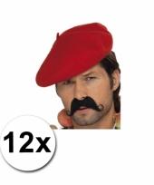 Franse hoedjes rode baretjes 12x trend