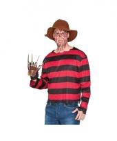 Freddy krueger look a like verkleedpak trend