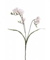 Freesia empera kunstbloemen wit 63 cm trend
