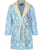 Frozen badjas kinderen lichtblauw trend