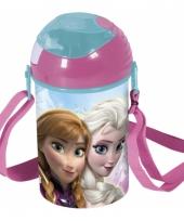 Frozen drinkbeker met koord 15 cm trend