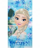 Frozen elsa badlaken 70 x 140 cm trend