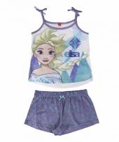 Frozen elsa korte pyjama meisjes trend