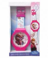 Frozen horloge wandklok 47 cm trend