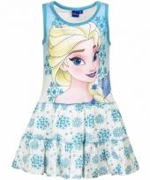 Frozen jurkje blauw voor meisjes trend