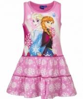 Frozen jurkje roze voor meisjes trend