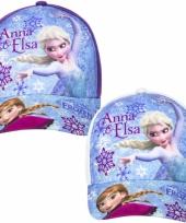 Frozen kinder petje paars trend