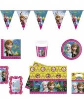 Frozen kinderfeestje versieringspakket trend
