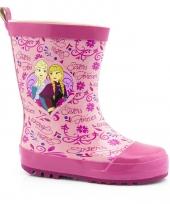Frozen laarsjes anna en elsa roze trend