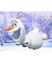 Frozen olaf 3d placemat type 2 trend