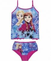Frozen onderbroek en spaghettibandjes hemd roze trend