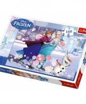 Frozen puzzel 160 stukjes trend