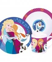 Frozen servies porselein 3 delig trend