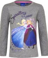 Frozen shirt grijs voor meisjes trend