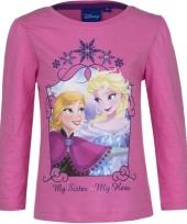Frozen shirt roze voor meisjes trend