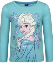 Frozen t-shirt elsa blauw trend