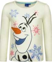 Frozen t-shirt olaf wit trend