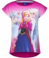 Frozen t-shirt roze voor meisjes trend 10085769