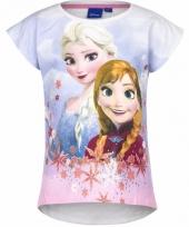 Frozen t-shirt wit voor meisjes trend