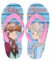 Frozen teenslippers anna en elsa sisters forever voor meisjes trend
