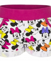 Fuchsia minnie mouse shorts trend
