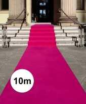 Fuchsia roze loper 10 x 1 meter trend
