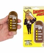 Fun button met paarden geluiden trend