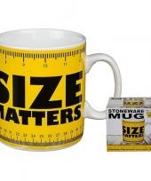 Fun koffiemok size matters 350 ml trend