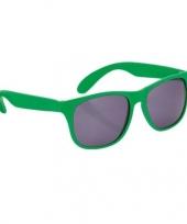 Fun reclame brillen in het groen trend