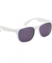 Fun reclame brillen in het wit trend