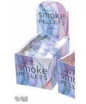 Fun rook bommetjes wit trend