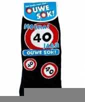 Fun sokken voor de 40 jarige trend