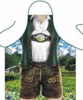 Funny bbq schorten bavarian man trend
