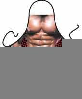 Funny bbq schorten bodybuilder trend
