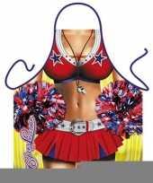 Funny bbq schorten cheerleader trend
