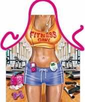 Funny bbq schorten fitness vrouw trend