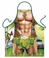 Funny bbq schorten gespierde hippie trend