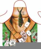 Funny bbq schorten strip poker man trend