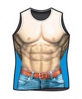 Funny t-shirts macho print trend