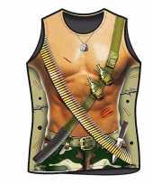 Funny t-shirts soldaten print trend