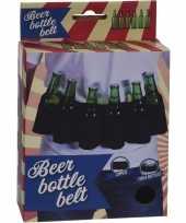 Gadget riem voor 6x bierflesjes trend