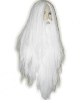 Gandalf look pruik met baard trend