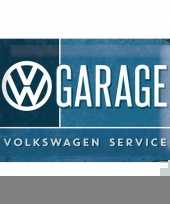 Garage decoratie vw service trend