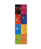 Gebak decoratie sterretje hart trend