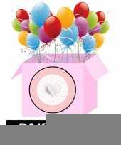 Geboorte decoratie meisje ster trend