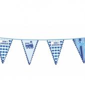 Geboorte vlaggenlijnen jongens trend