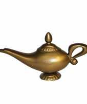 Geesten lamp in het goud trend